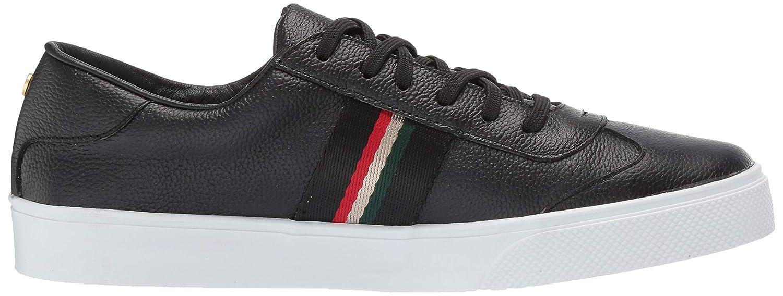 KAANAS Womens Perugia Lace Up Suede Stripe Fashion Sneaker
