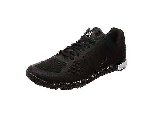 buy popular c4e73 1cfcd Reebok Speed TR, Chaussures de Fitness Homme, Noir (Black White 000)