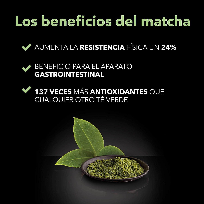 King Cup - Matcha Green Tea sin azúcar - 5 paquetes de 10 sobres Solubles (50 tazas): Amazon.es: Alimentación y bebidas