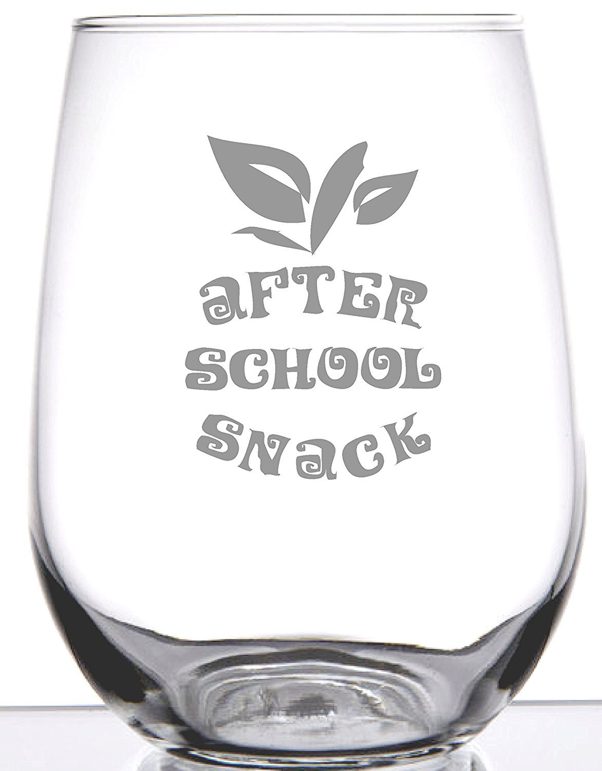 After School Snack - Unique Wine Glass For Teachers