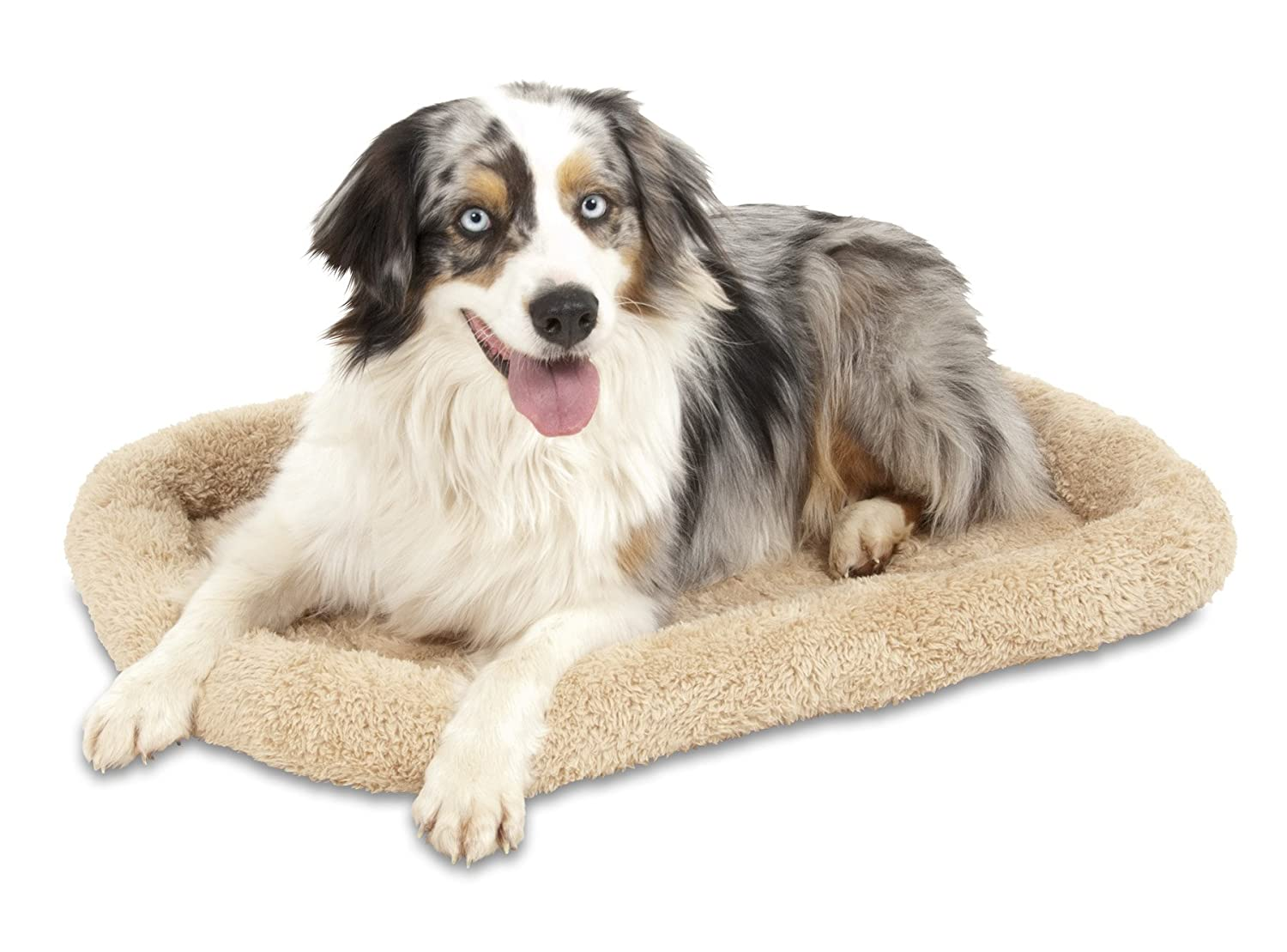 32 X 21 Aspen Pet Bolster Style Kennel Mat, 32 by 21-Inch
