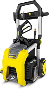 Karcher K1800 Electric Power Pressure Washer 1800 PSI TruPressure, 3-Year Warranty, Turbo Nozzle Included (Renewed)