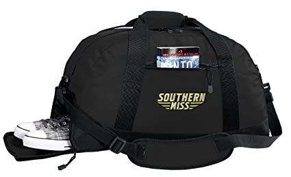 393a4569c4 Image Unavailable. Image not available for. Color  Broad Bay NCAA Southern  Miss Duffel Bag - USM Golden Eagles Gym Bags ...