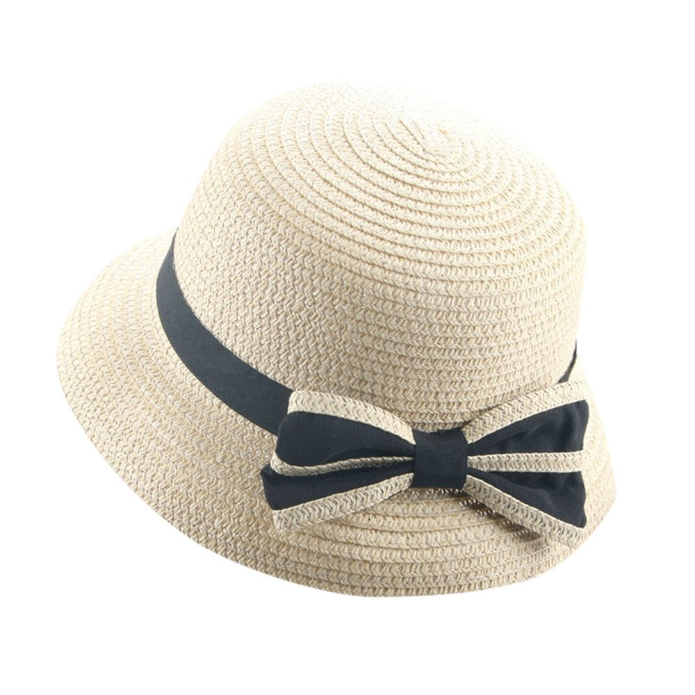 2-6 Years Old Unisex Baby,Yamally_9R Summer Baby Kids Flower Breathable Straw Boater Hat Fedora Hats