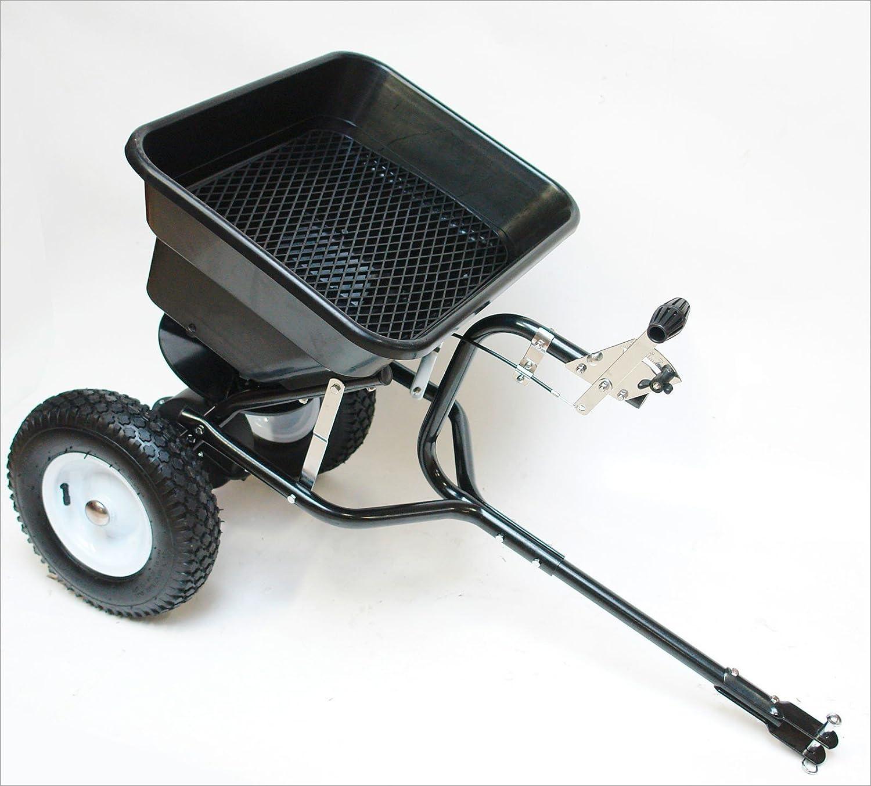 Salero/abono/Salero con centrifugado anhängemöglichkeit para tráctor/ATV embrague 45L/36kg Dema
