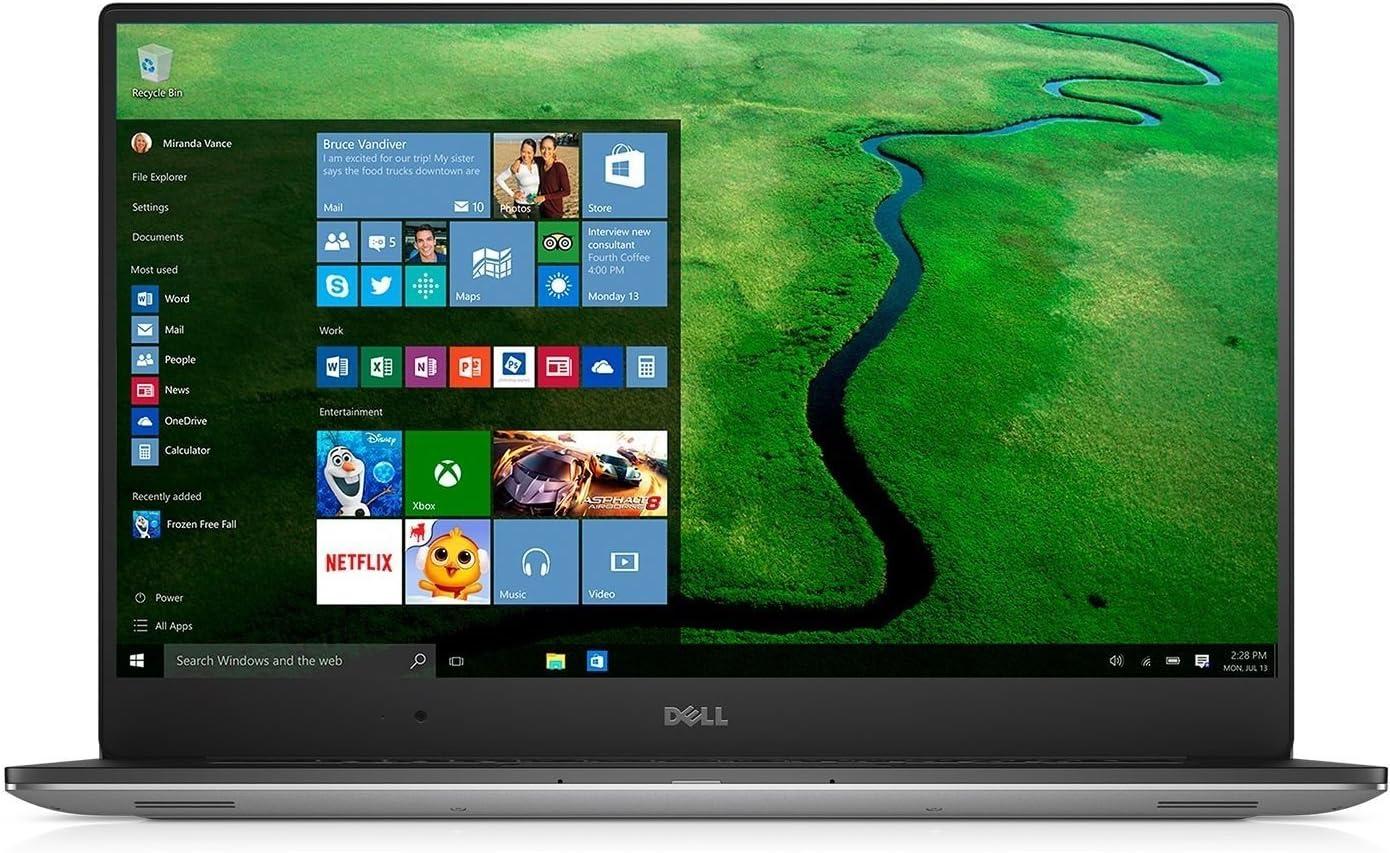 Dell Precision M5510 Laptop Intel Core 6th Generation i7-6820HK 16 GB DDR4 | 256 GB SSD NVIDIA Quadro M1000M 2 GB GDDR5 15.6inc UltraSharp FHD IPS Windows 10 Pro (Renewed)