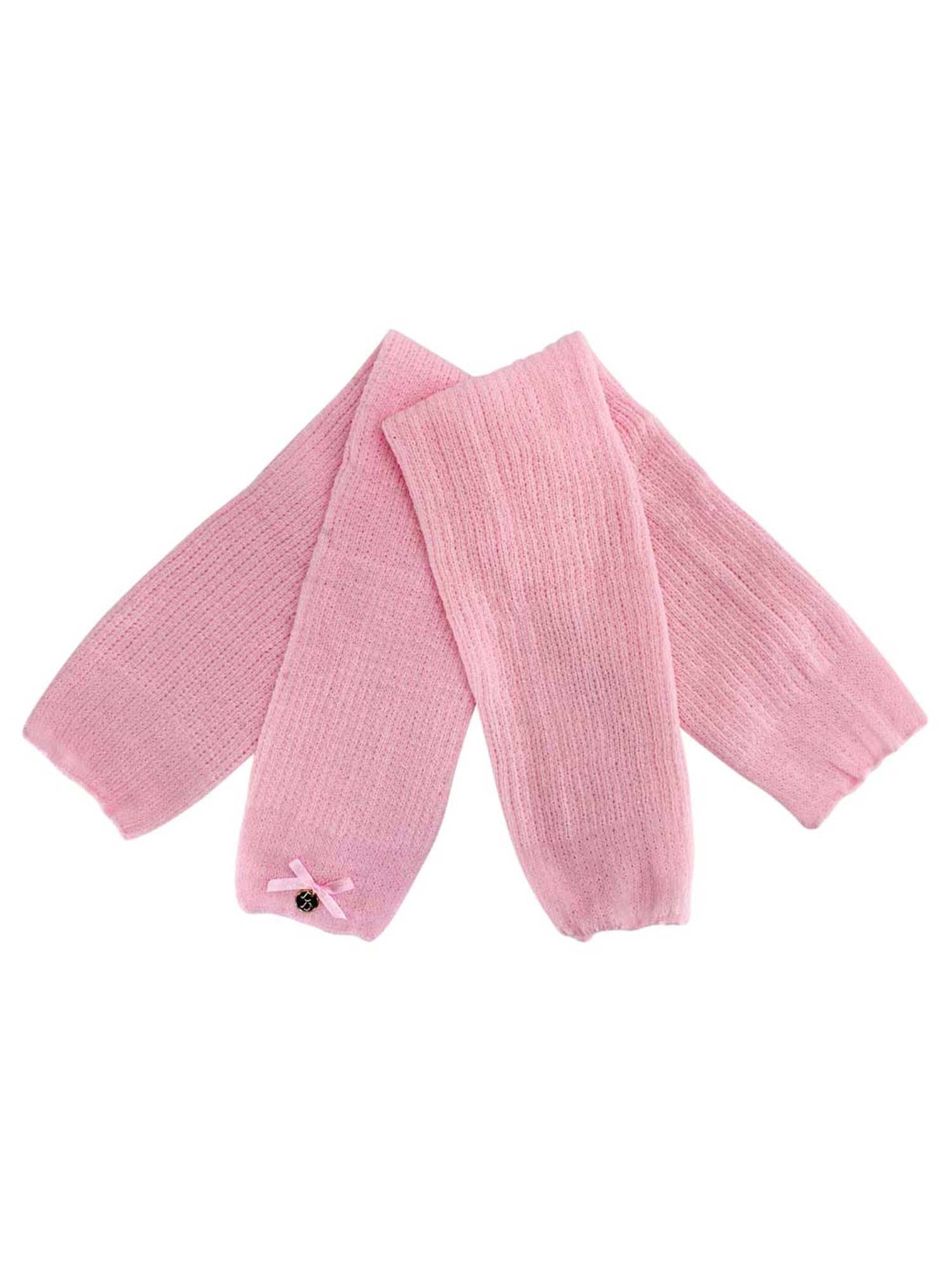 Pink Long Thick Knit Dance Leg Warmers by Luxury Divas (Image #3)