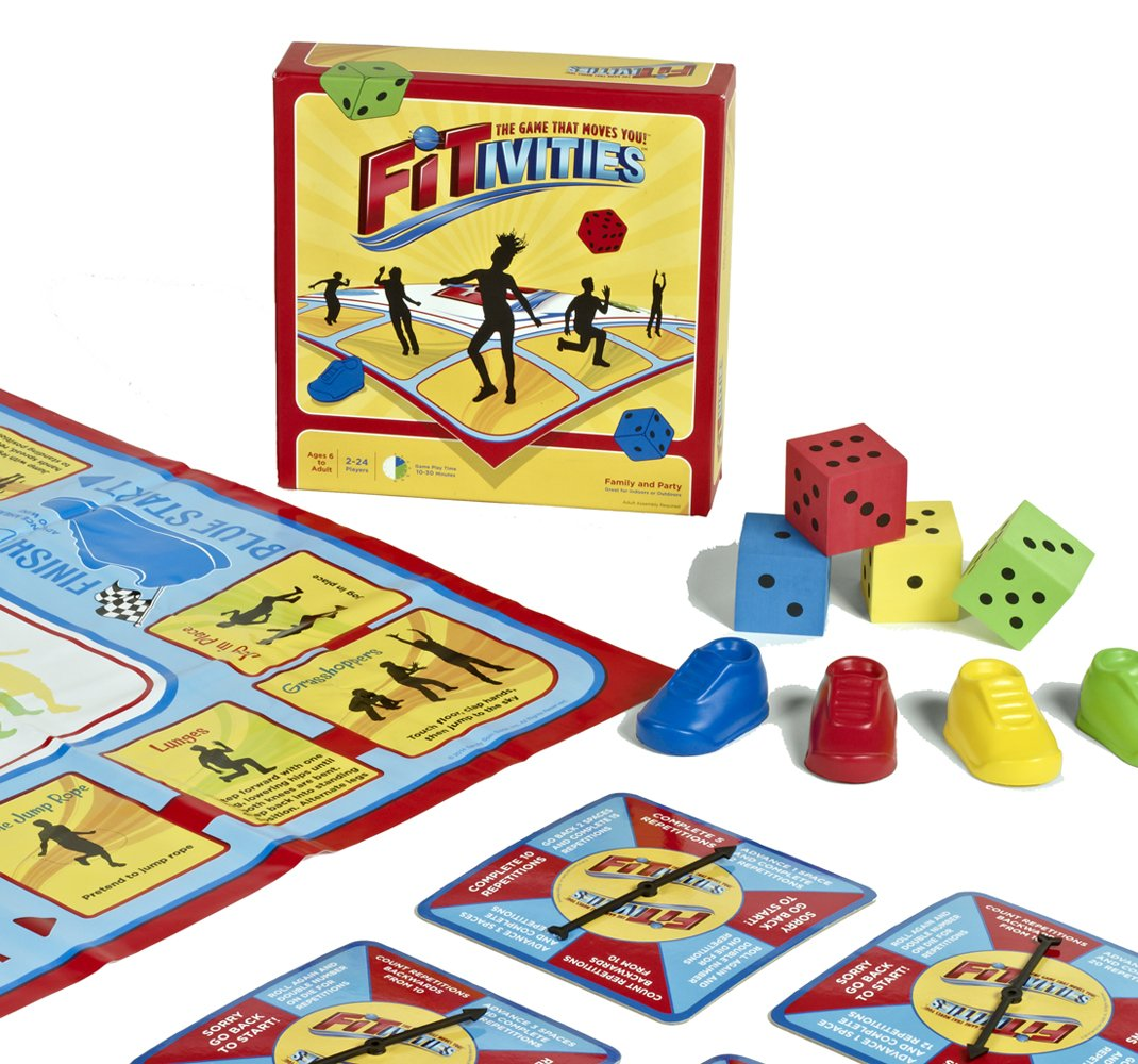 Fitivities Kids and Family Fitness / Exercise Game, Small or Large Groups (Indoors or Outdoors)