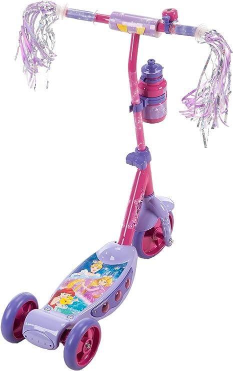 Amazon.com: Huffy., Princesa de Disney con luz y botella de ...