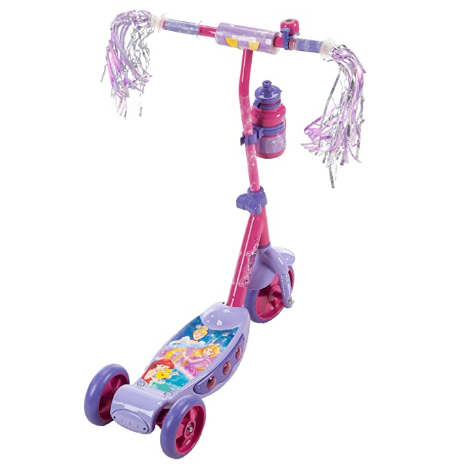 Amazon.com: Huffy Patinete preescolar de tres ruedas Disney ...