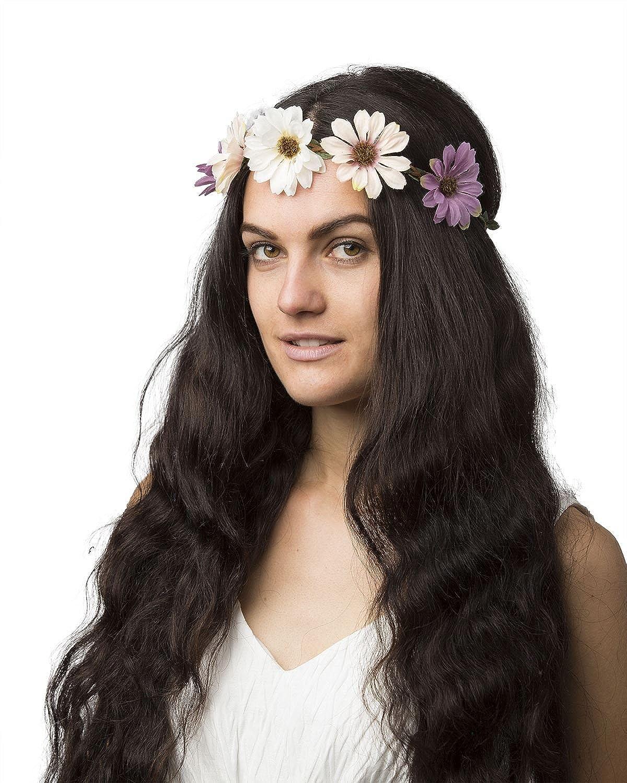 Cloud9basic Multi Boho Festival Flower Crown Headband Garland