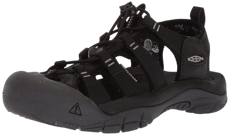 KEEN Women's Newport Eco-W Sandal B06ZXXD2R9 9 B(M) US|Black/Magnet