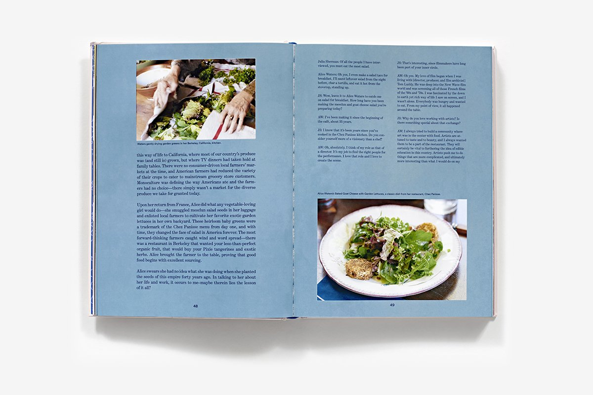 Salad for President: A Cookbook Inspired by Artists: Julia Sherman ...