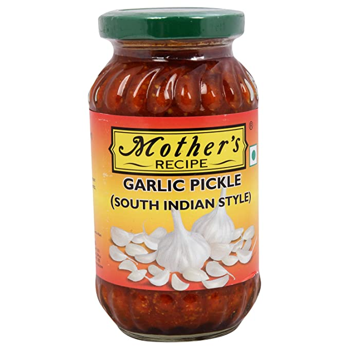 Mothers recipe pickle garlic south indian style 300g bottle mothers recipe pickle garlic south indian style 300g bottle forumfinder Images