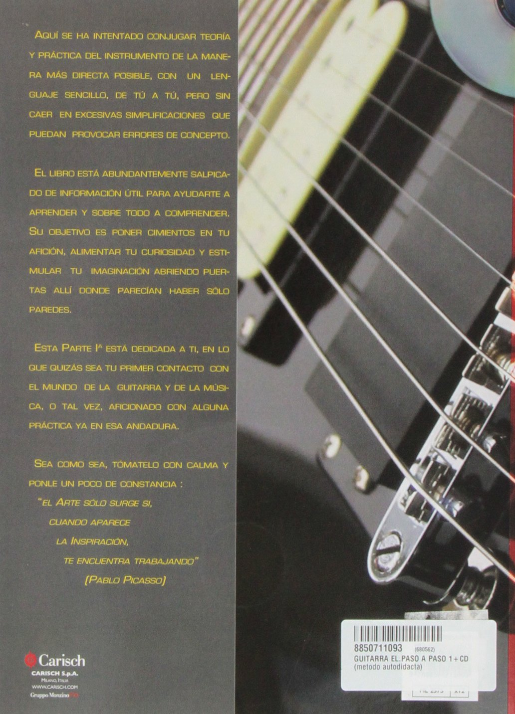 Amazon.com: Guitarra Electrica Paso A Paso 1 (9788850711093): ZAPATA y CASTERLENAS: Books