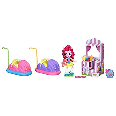 My Little Pony Equestria Girls Pinkie Pie Bumper Cars & Candy Fun: Toys & Games