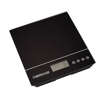 Farberware 5122579 Professional Electronic Kitchen Scale, Black