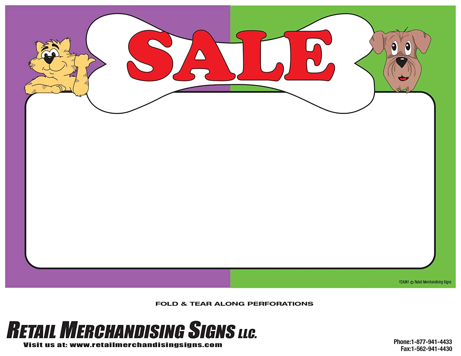 photo relating to Retail Sale Signs Printable identified as : YZA961 Rate Signal Laser Playing cards\