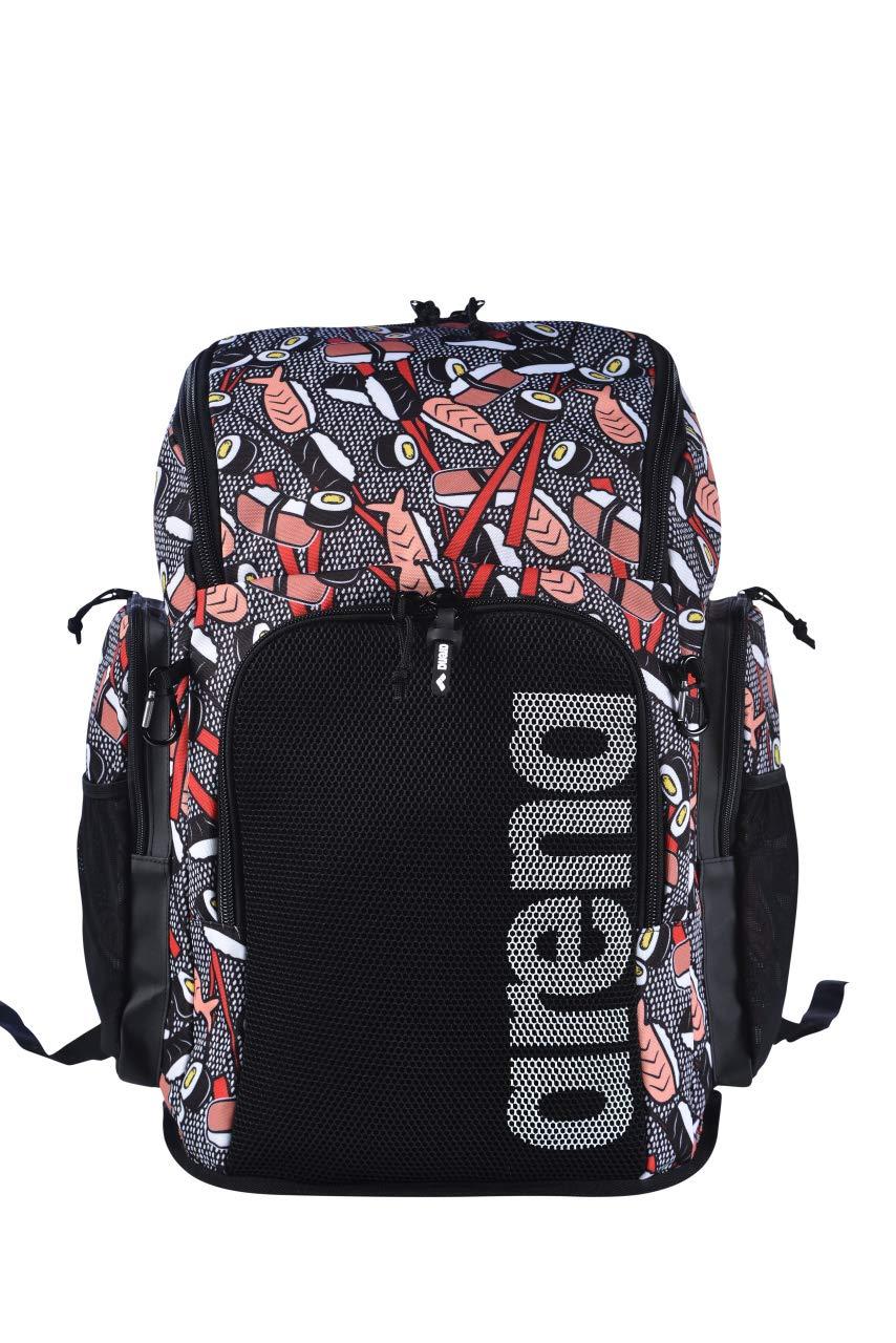 Talla /Única Unisex Adulto ARENA Bolsa Team Backpack 45 Allover Sushi