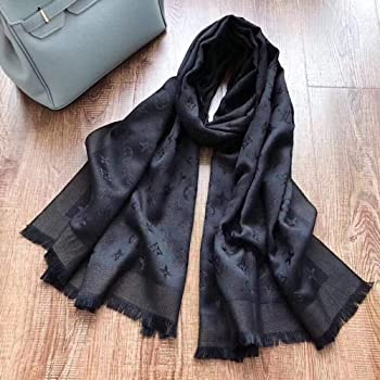 Fashion Luxury Cashmere//Wool Scarf Warm Large Scarves Silk Shawl for Women Men(70.9x27.6)