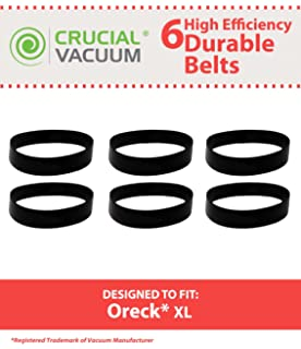 amazon com oreck belt oreck upright flat pack of 3 home kitchen 6 drive belts for oreck xl upright vacuums compare to oreck part nos 030