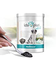 Ida Plus - Heilmoor 1000 g - Verbessert die Kotbeschaffenheit – optimale Verdauung beim Hund – Immunsystem stärken – zur Appetit Anregung - 100% natürliche Heilerde – Natur Pur aus dem Hochmoor