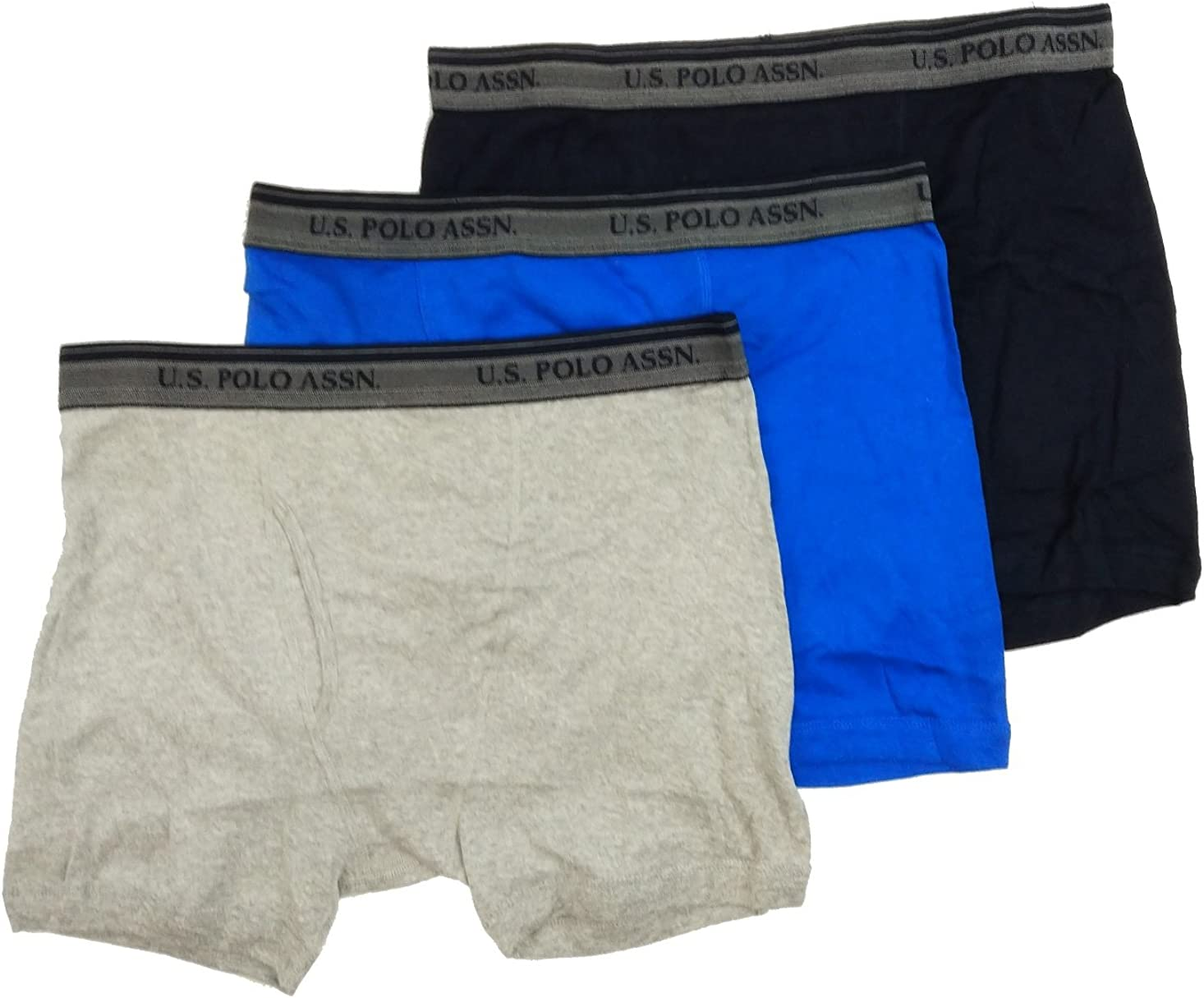U.S Polo Assn 3 Pack Cotton Boxer Brief
