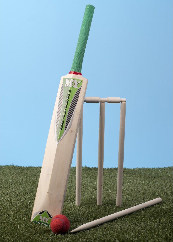 Y&M M.Y Twenty20 - Juego de Críquet con Bolsa de Transporte, Madera 5 TY3804
