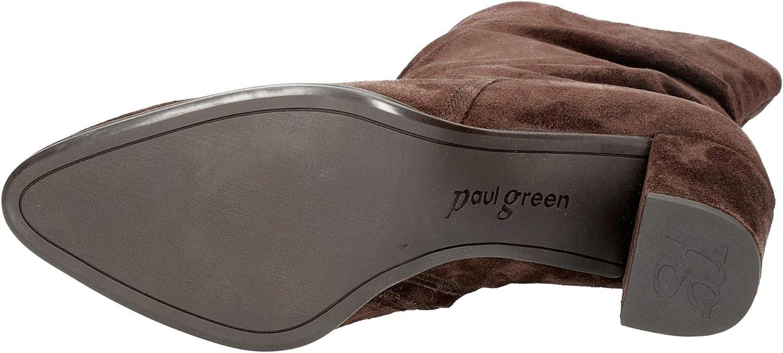 Paul Green | Stiefelette - braun | Schoko Braun