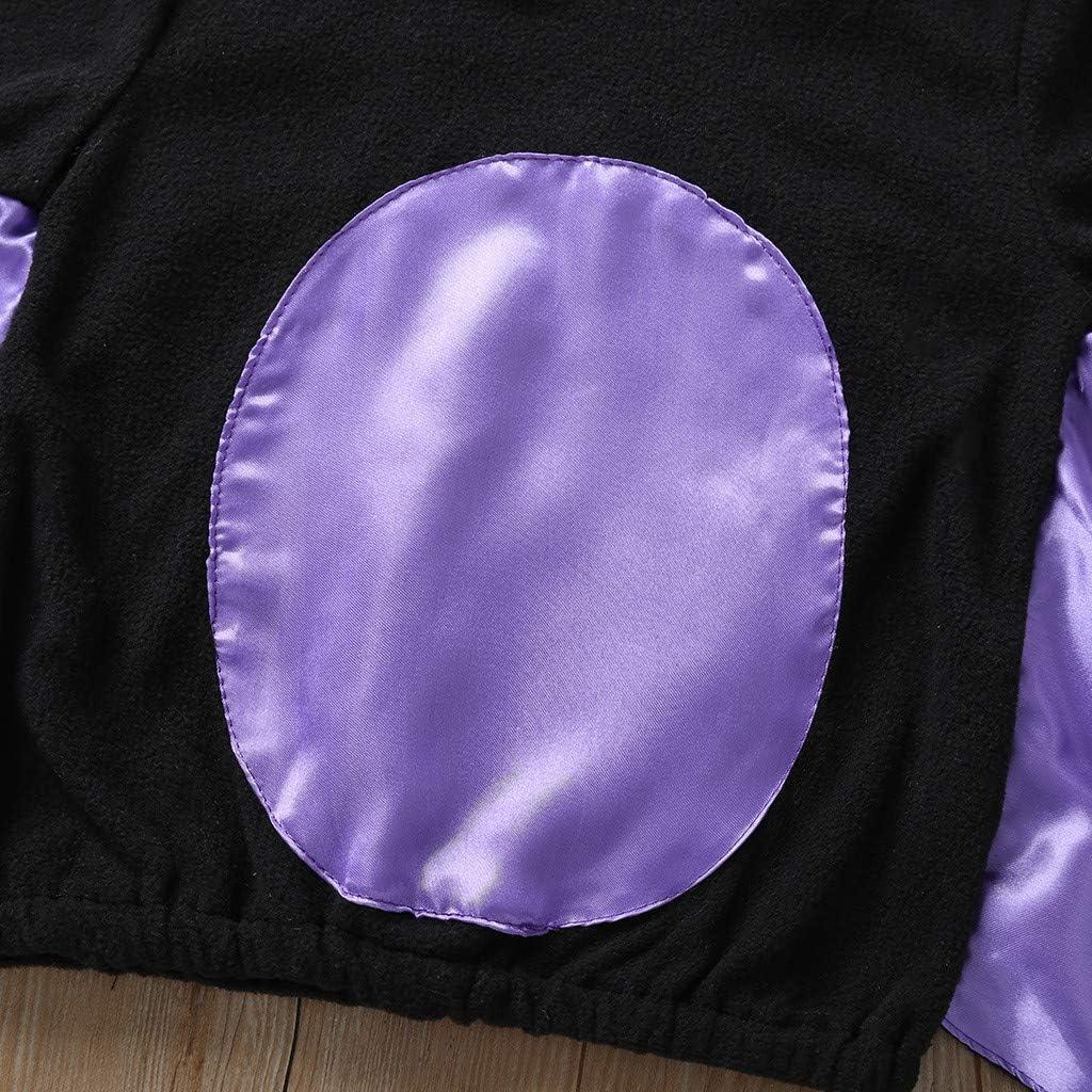 Halloween Fumetto Costume Costumi 0-4 Anni Bambino Bambina Boy Girl Pipistrello Maglione Hoodie Felpa con Cappello Mbby Costumi Neonato Halloween