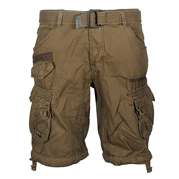 La Redoute Geographical Norway Mens Parasol Bermuda Shorts Green