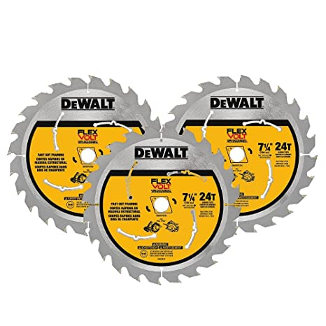 Dewalt dwafv37243 flexvolt 24t circular saw blade 3 pack 7 14 dewalt dwafv37243 flexvolt 24t circular saw blade 3 pack 7 1 greentooth Choice Image