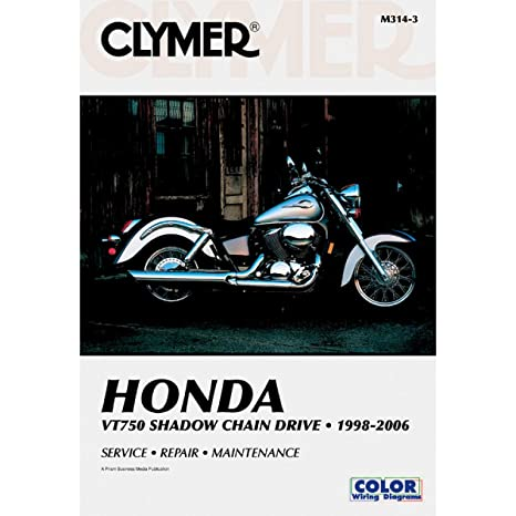 amazon com 01 06 honda vt750dc clymer service manual misc rh amazon com 2003 Honda VT750 Shadow Spirit Honda VT750CD2
