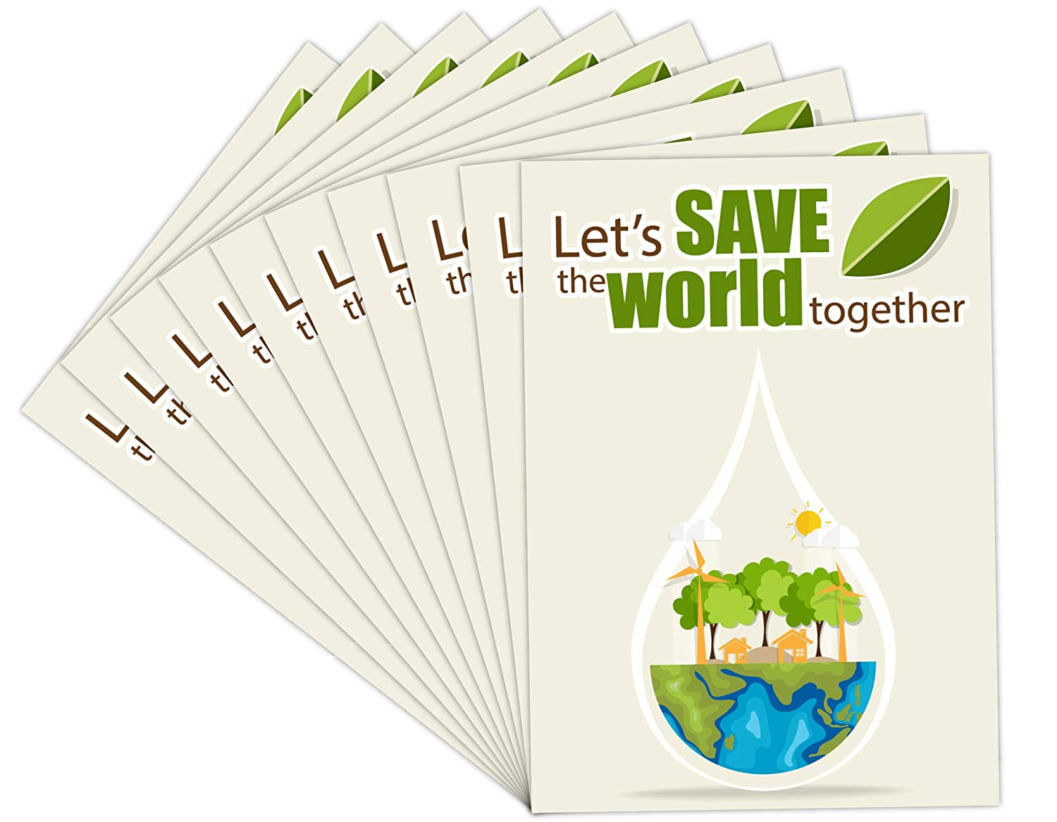 Save World Environment Quote Posters Set Of 10 Best For Rally