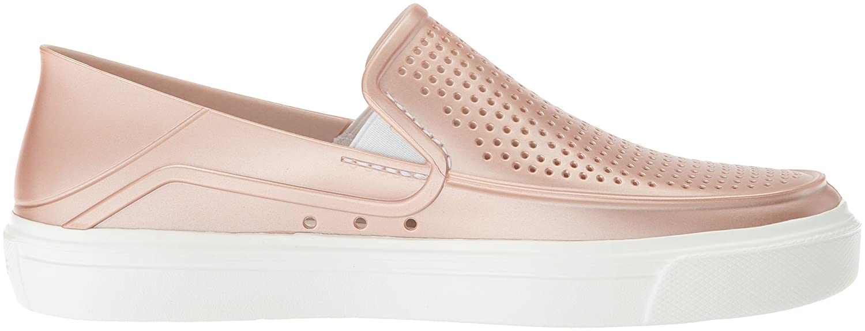 Crocs Damenschuhe/Ladies Citilane Roka Graphic Slip Slip Graphic on Summer Loafer Schuhes Rose Dust c65939