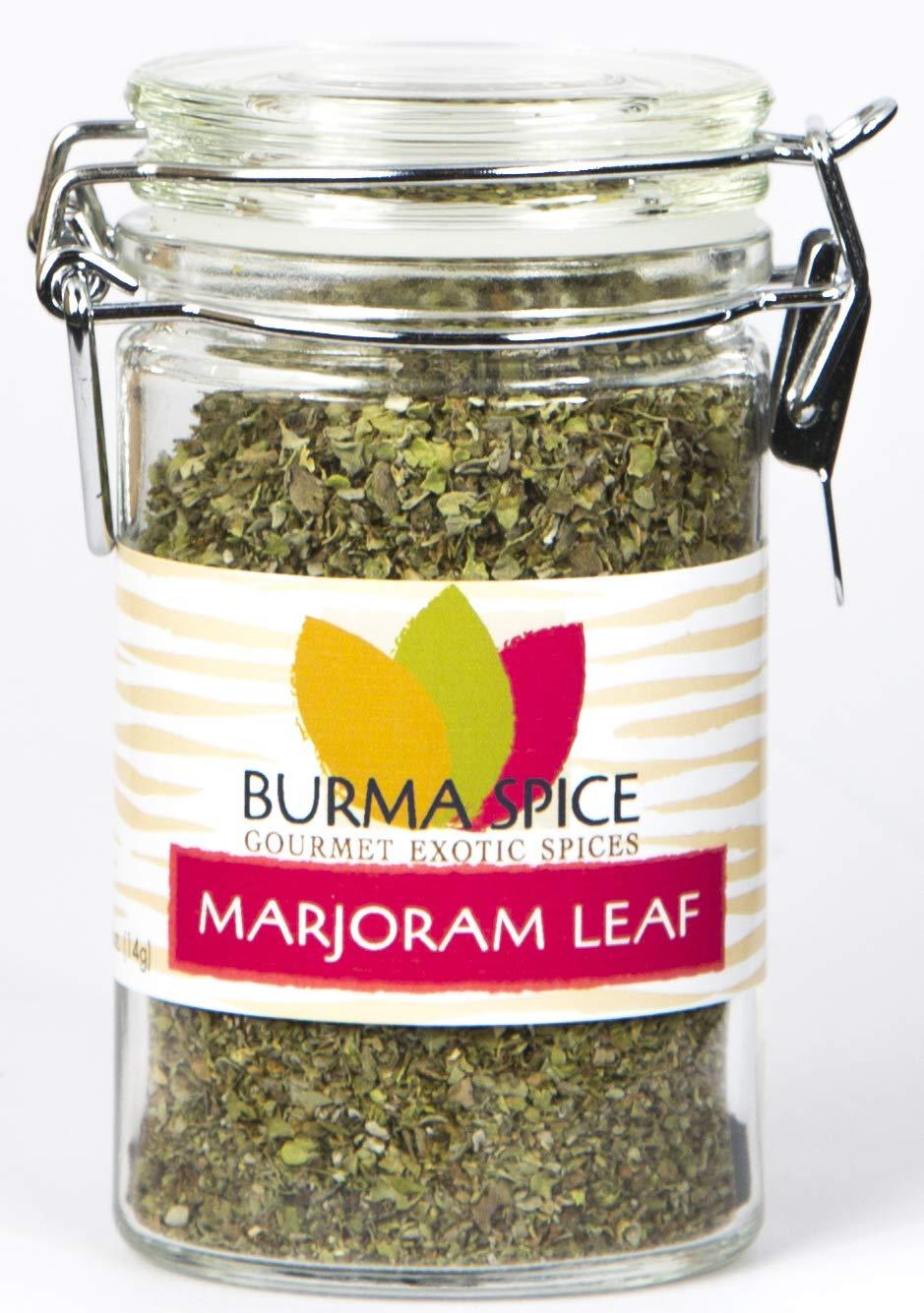 Marjoram Leaves : Dry Herb Seasoning Spice : Kosher Certified (0.5oz.)