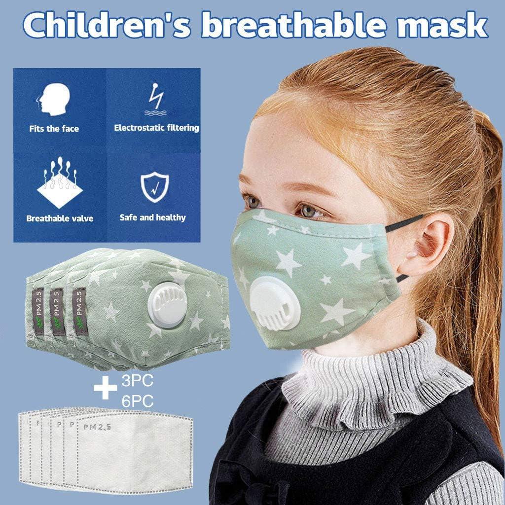 NINGNETI Antipolvo Faciales visera con Carb/ón Activado Filtro Reutilizable y Lavable Protector Faciales al Aire Libre NKZ-0428A27 Pack 1 unidades