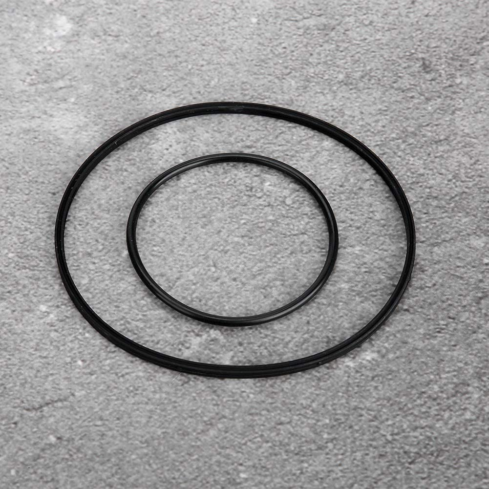 Suuonee Vacuum Pump Seal,2pcs 11668626471 Vacuum Pump Seal Gasket Sealing Ring for E46 1997-2006