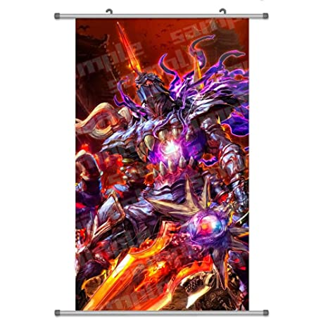 A Wide Variety of Soul Calibur:Soul Edge Game Characters Wall Scroll  Hanging Decor (Nightmare 1)