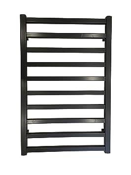 Diseño baño Radiador GLORYA Noir 800 x 500 mm. calentador toallas: Amazon.es: Bricolaje y herramientas