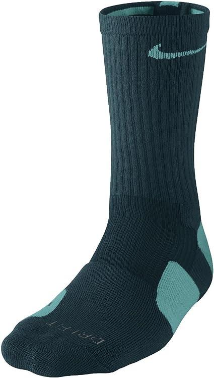 Nike Elite Socks (Large, Teal)