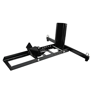 Extreme Max 5001.5757 Adjustable Motorcycle Wheel Chock Stand Heavy Duty 1800lb. Weight Capacity: Automotive