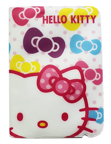Hello kitty white colored hair bow themed business card holder hello kitty white colored hair bow themed business card holder reheart Choice Image