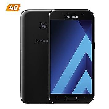 SMARTPHONE SAMSUNG GALAXY A3 (2017) BLACK - 4.7/12CM: Samsung: Amazon.es: Electrónica