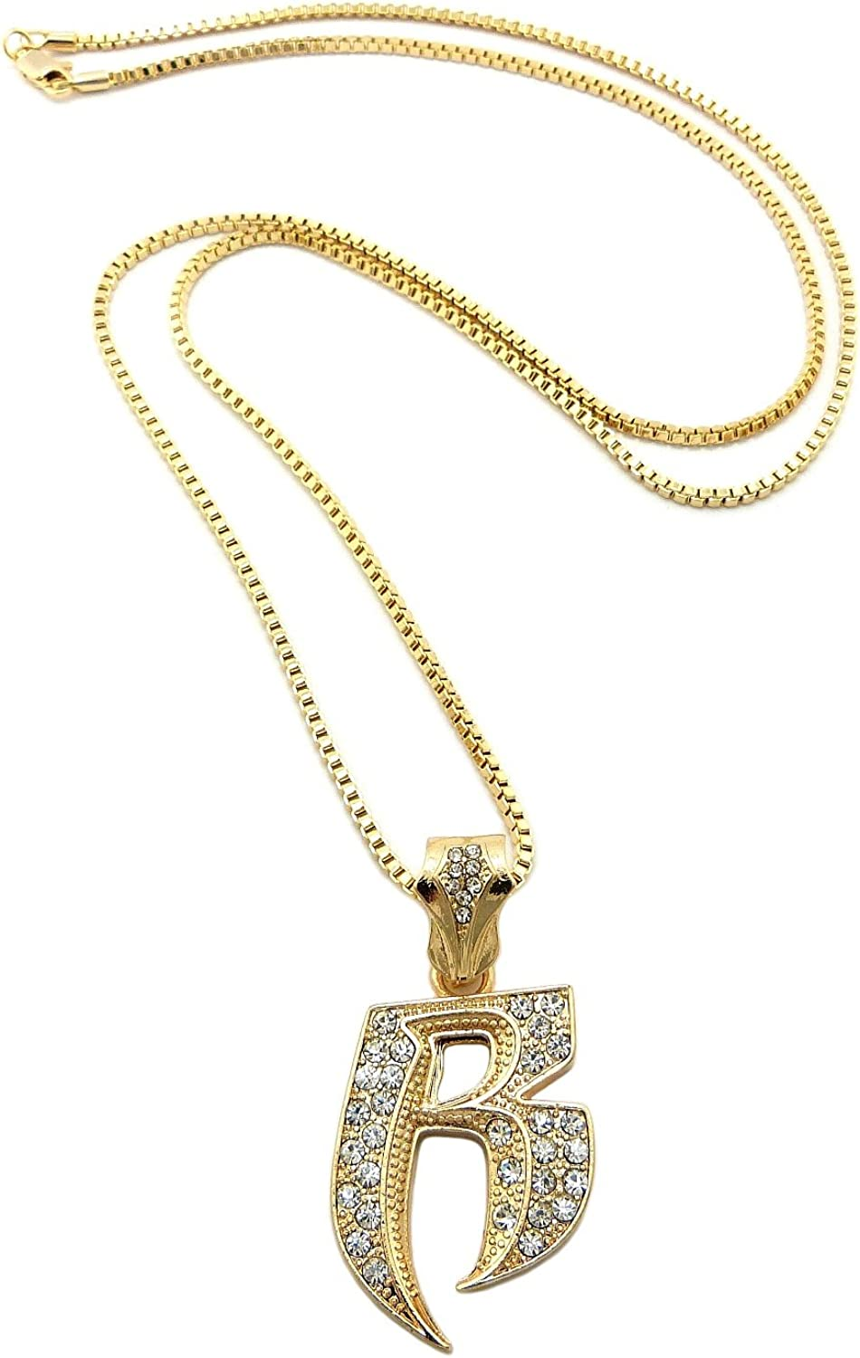 LaRaso /& Co Sterling Silver Initial B Pendant Necklace Jewelry for Women