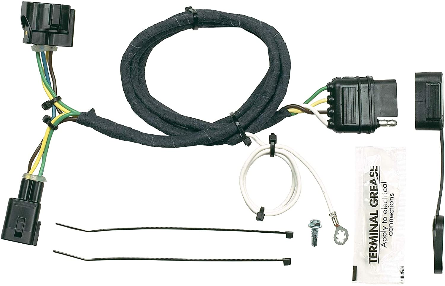 [EQHS_1162]  Amazon.com: Hopkins 42615 Plug-In Simple Vehicle Wiring Kit: Automotive | 2004 Tj Wiring Harness |  | Amazon.com