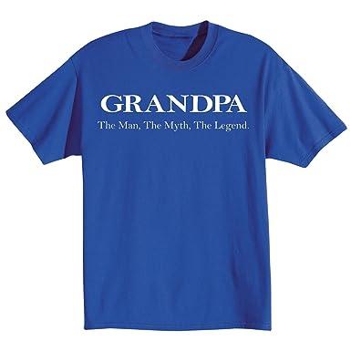 Amazon unisex adult grandpa the man the myth the legend t unisex adult grandpa the man the myth the legend t shirt sciox Gallery