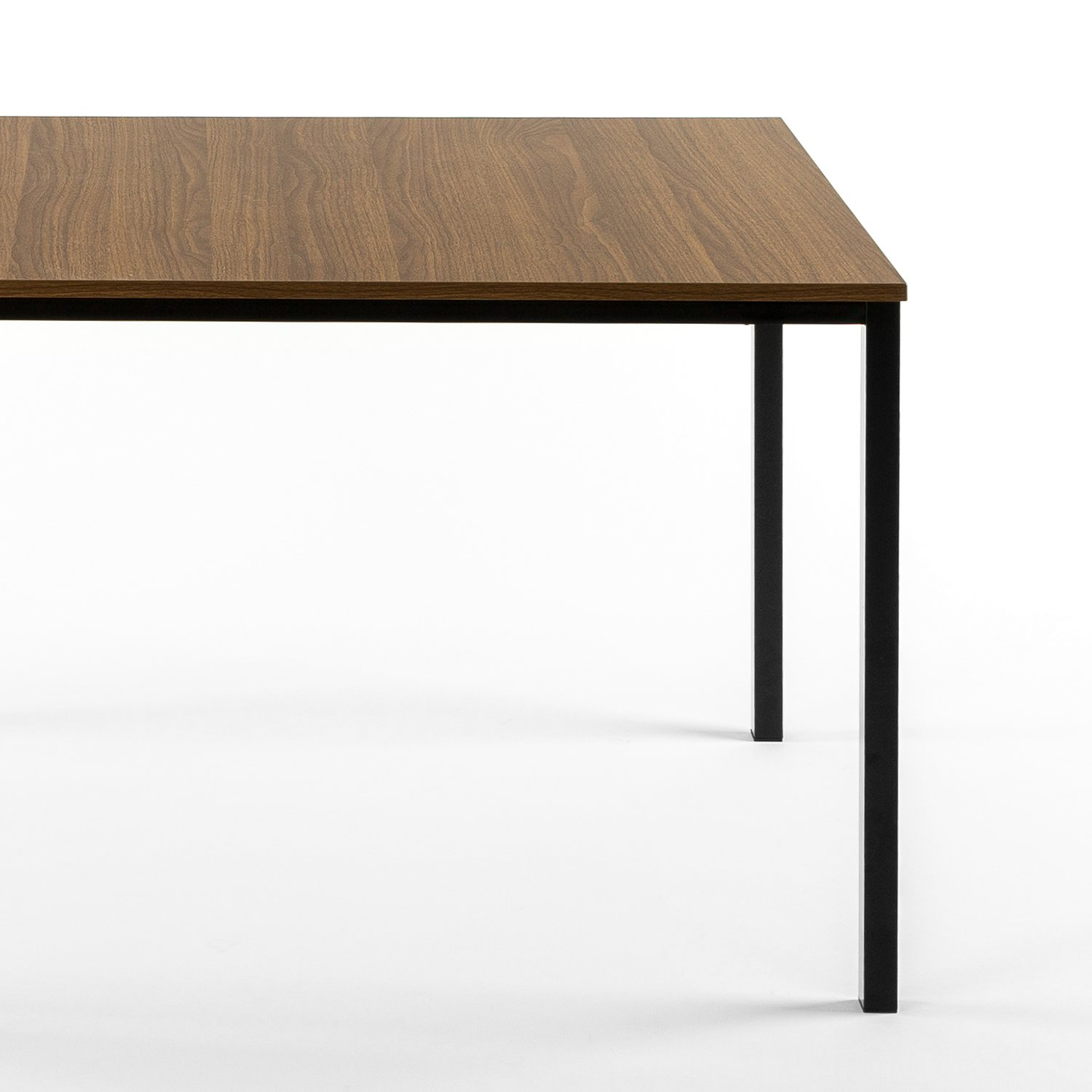 Zinus Modern Studio Collection Soho Dining Table/Office Desk/Computer Desk/Table Only, Brown by Zinus (Image #5)