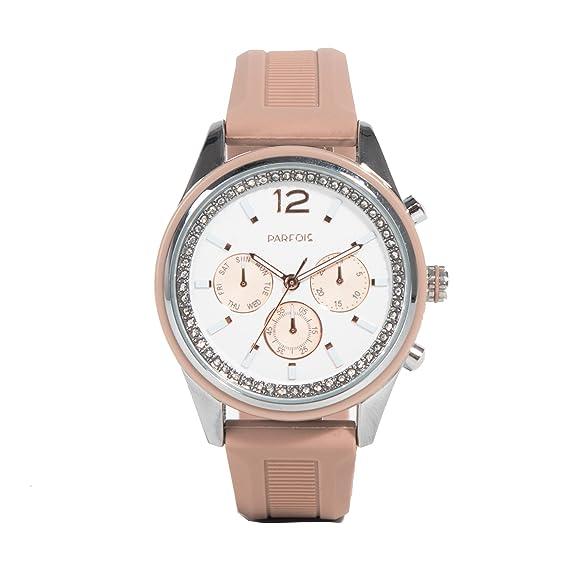 Parfois - Reloj Rubber - Mujeres - Tallas M - Rosa