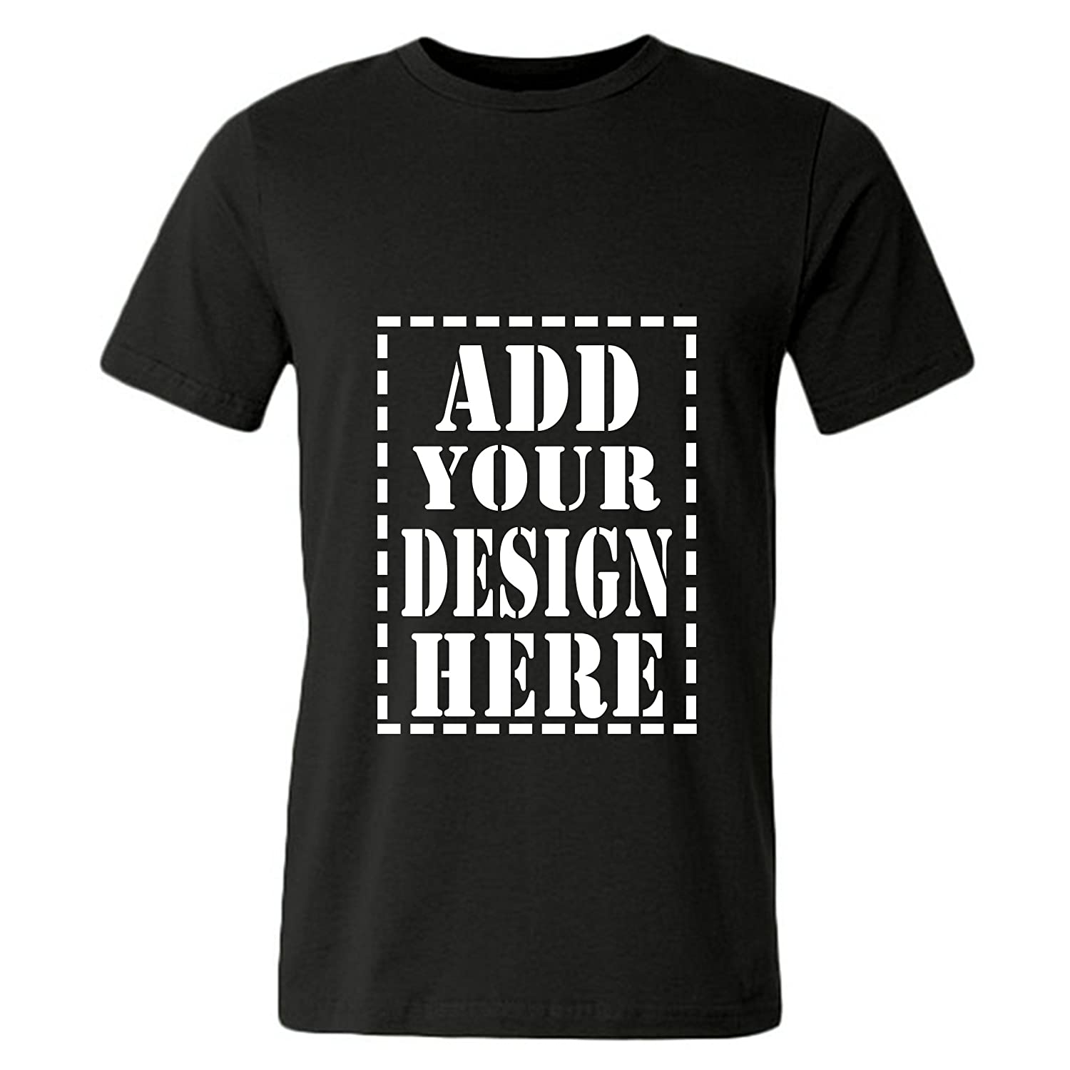 5a9b437f Amazon.com: Men's Customized T-Shirts Printed Personalised Design Your Own  Cotton Athletic Short Sleeve: Clothing